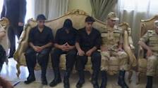 Mursi meets released soldiers