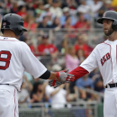 Red Sox RF Victorino put on disabled list The Associated Press