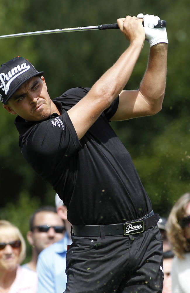 Palmer opens with a 63 to lead Deutsche Bank