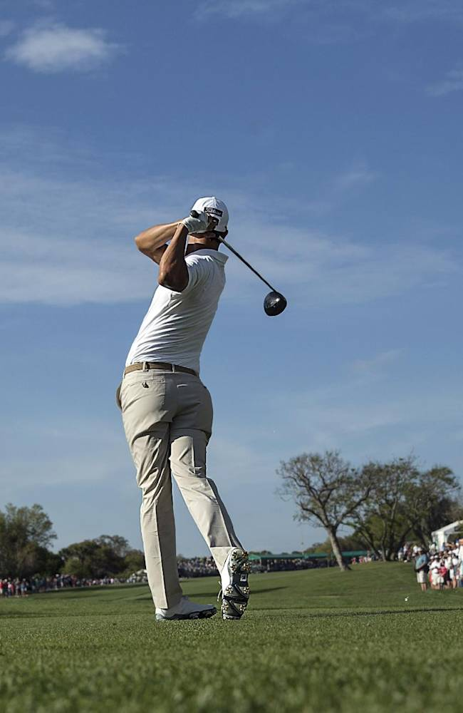 Scott comes back to the field at Bay Hill
