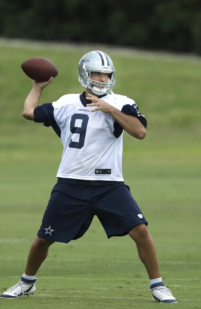 Romo ready, has large task leading Cowboys in 2014