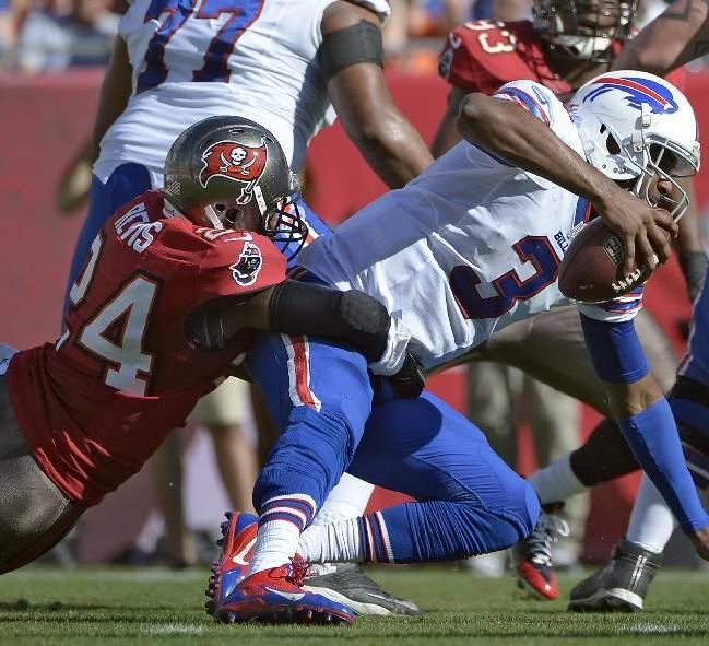 Bills coach Marrone maintains faith in QB Manuel