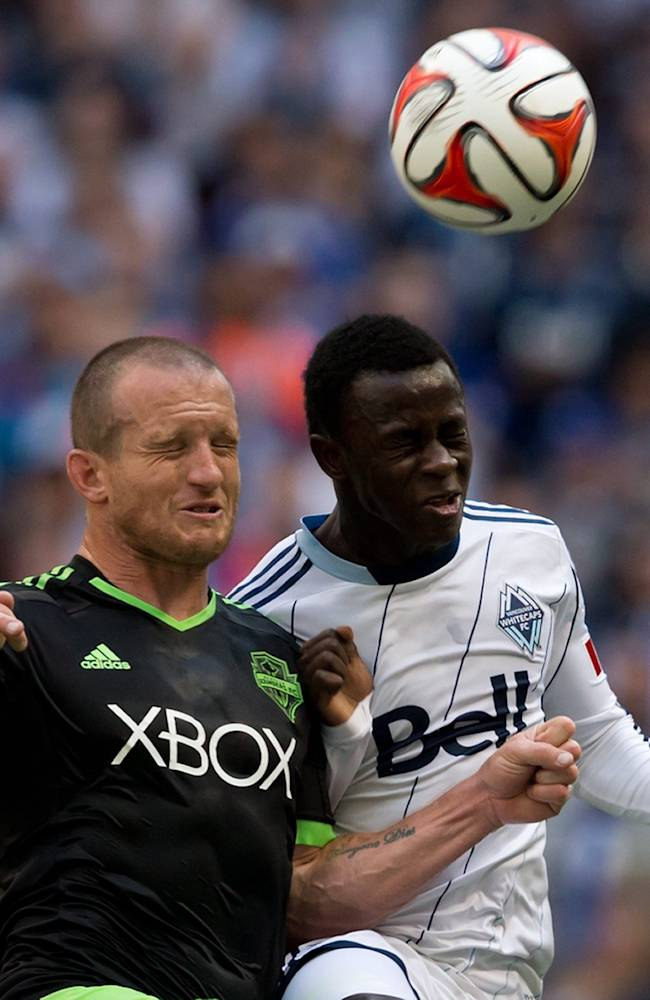 Sounders salvage 2-2 tie with Whitecaps