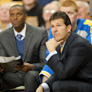 UCLA head coach Steve Alford, right, watches his team play during the second half of an NCAA college basketball game against Missouri Saturday, Dec. 7, 2013, in Columbia, Mo. Missouri won the game 80-71 The Associated Press