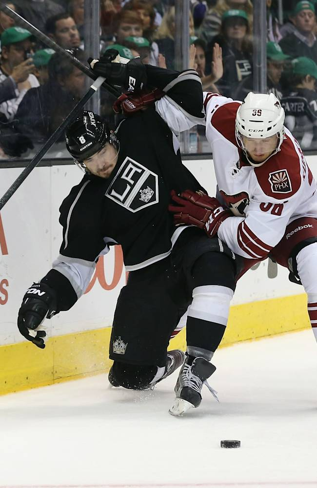 Phoenix Coyotes v Los Angeles Kings