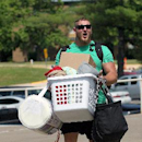 Kansas City Chiefs offensive lineman Eric Kush moves in before NFL football training camp on Wednesday, July 23, 2014, in St. Joeph, Mo The Associated Press