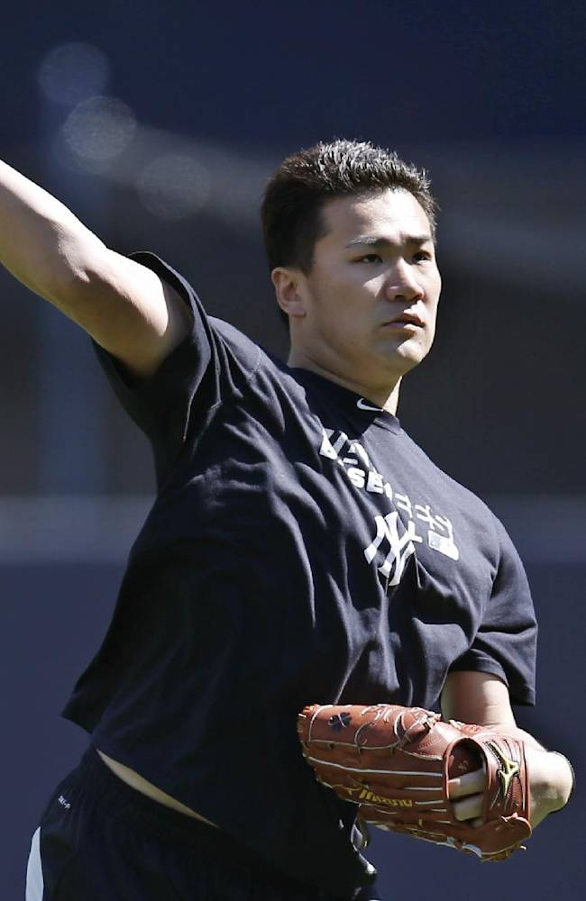 Yankees ace Tanaka sent home with general soreness