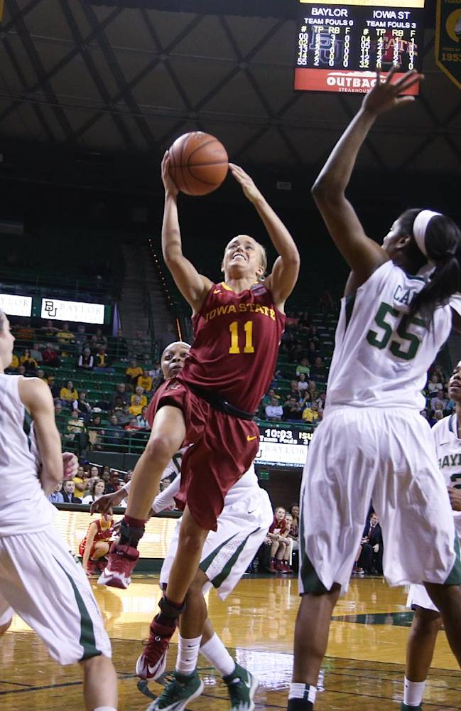 Sims, No. 6 Baylor women rout Iowa State 89-51