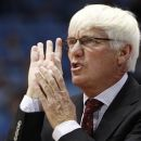 FILE - In this Nov. 28, 2010, photo, College of Charleston coach Bobby Cremins gestures during AN NCAA college basketball game against North Carolina in Chapel Hill, N.C. Cremins, who retired in March as the College of Charleston's coach, was back at Georgia Tech on Wednesday. Cremins says he is recruiting former players, assistant coaches and student managers to return as a show of support for second-year coach Brian Gregory when Georgia Tech opens its new arena Nov. 9 against Tulane. (AP Photo/Gerry Broome, FILE(