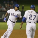 Rangers go deep 3 times in 8-2 win over weary Royals The Associated Press