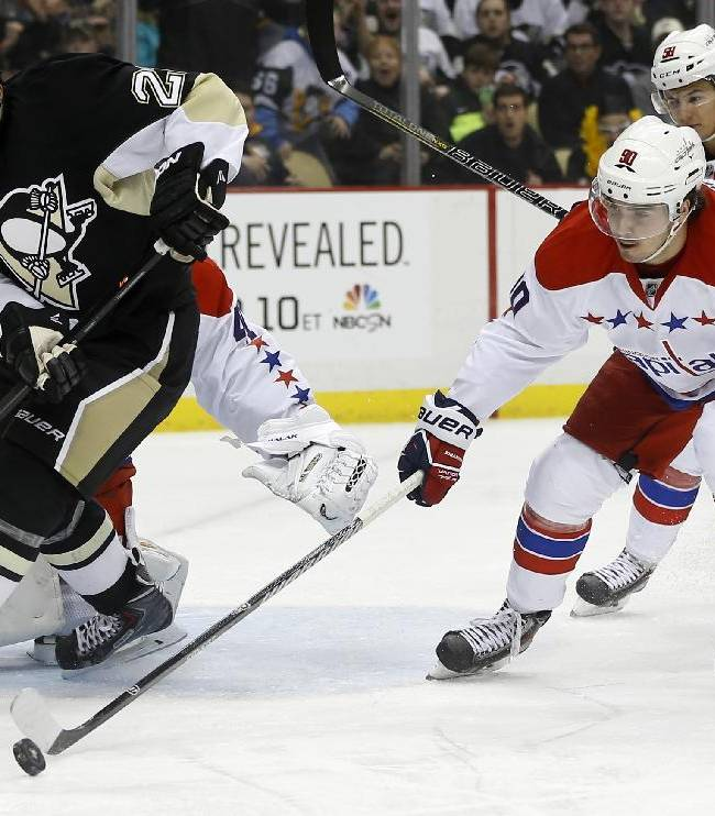 Penguins beat Capitals as Fleury gets 5th shutout