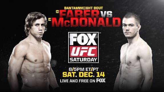 UFC on FOX 9: Faber vs McDonald Preview