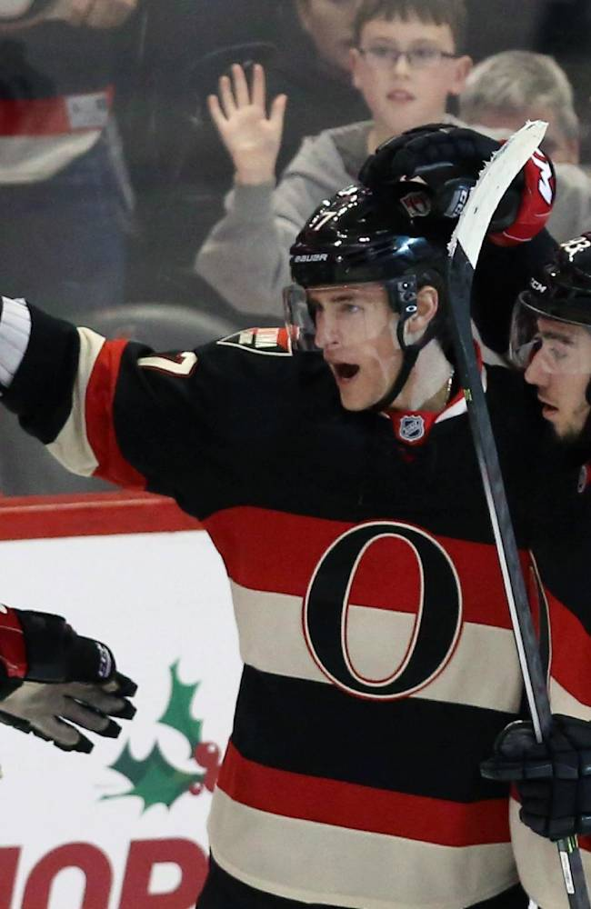 Senators' Spezza scores SO winner vs. Flyers