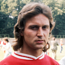 File- In this July 1974 file picture,  former German national soccer player Heinz Flohe is photographed at unknown place in Germany. Heinz Flohe, a player in Germany's 1974 World Cup-winning team  died late Saturday June 15, 2013 after being in a coma for more than three years, the German Football Association said. He was 65. The former FC Cologne midfielder played 39 games for Germany, scoring eight goals.   (AP Photo/dpa, Wilhlem Leuschner,File)