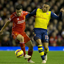 Liverpool ties Arsenal; Marseille leads in France