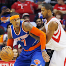Knicks' Anthony sits in Dallas with back spasms (Yahoo Sports)
