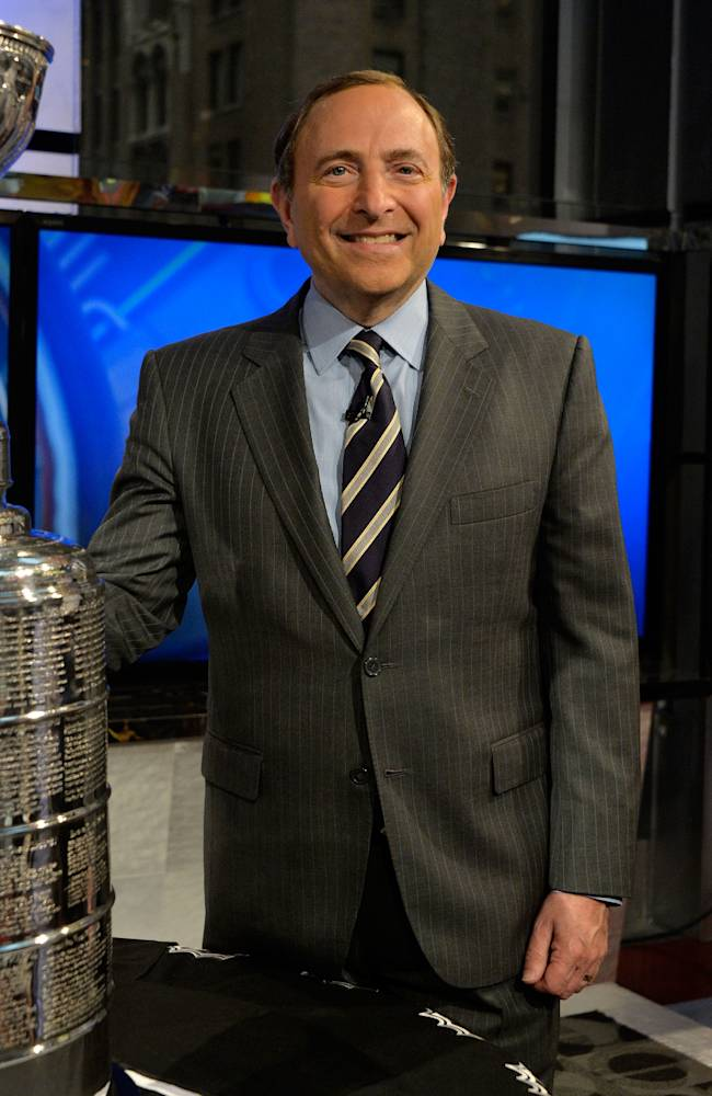 NHL Commissioner Gary Bettman Visits FOX Business