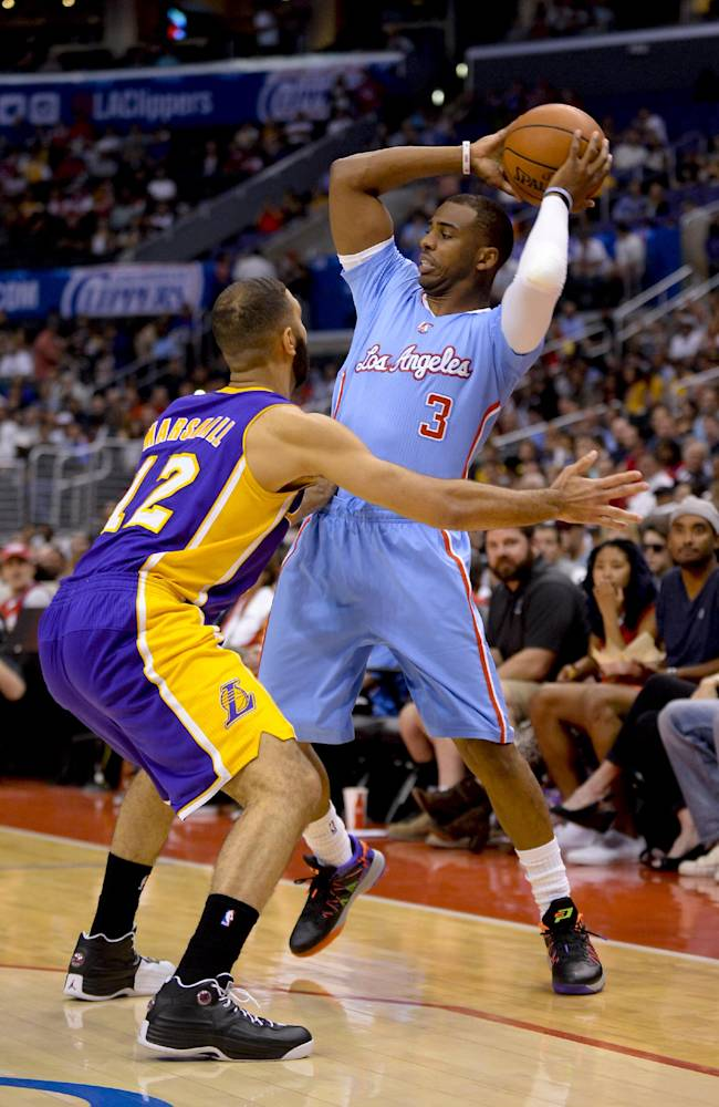 Clippers beat Lakers 120-97 led by Griffin, Paul