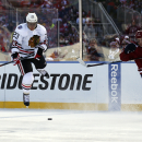 Blackhawks forward Kris Versteeg out for a month The Associated Press