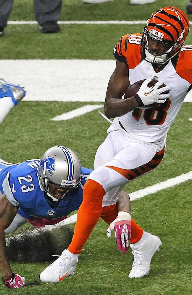 Nugent's FG lifts Bengals to 27-24 win over Lions
