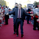 Chicago Blackhawks right wing Patrick Kane greets fans as he arrives at the United Center before an NHL hockey game against the Buffalo Sabres in Chicago, Saturday, Oct. 11, 2014 The Associated Press