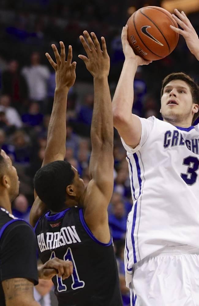 McDermott scores 33, No. 23 Creighton beats Tulsa