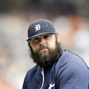 Chamberlain's arm and beard fitting in with Tigers The Associated Press