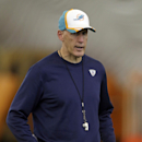 Miami Dolphins head coach Joe Philbin gives instructions during an NFL football practice in Davie, Fla., Tuesday, Oct. 21, 2014 The Associated Press