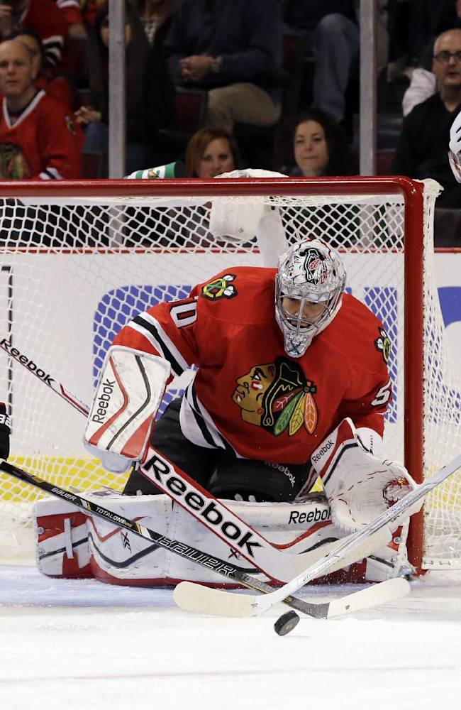Blackhawks defensemen stepping up on offense