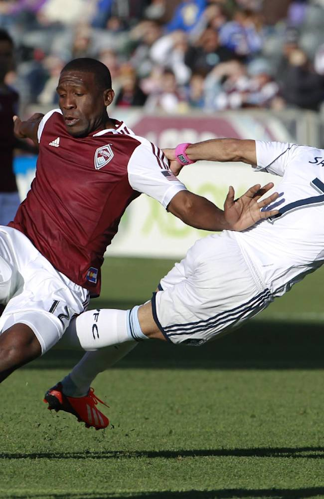 Torres scores 2, Rapids beat Whitecaps 3-2