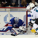San Jose Sharks v New York Rangers Getty Images