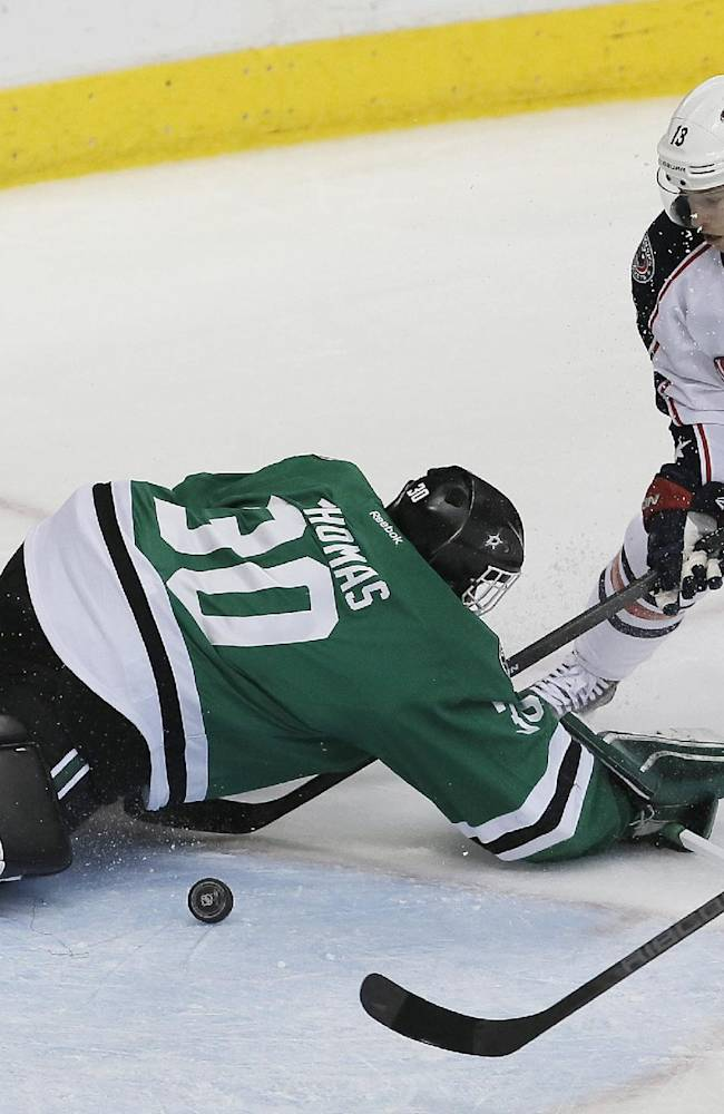 Jackets start with lead, go on to beat Stars 3-1