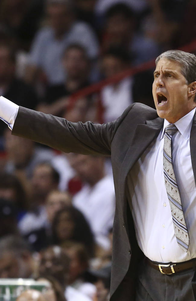 Wizards coach fined $20K for profane language