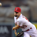 Angels' Richards rejoins team after knee injury The Associated Press