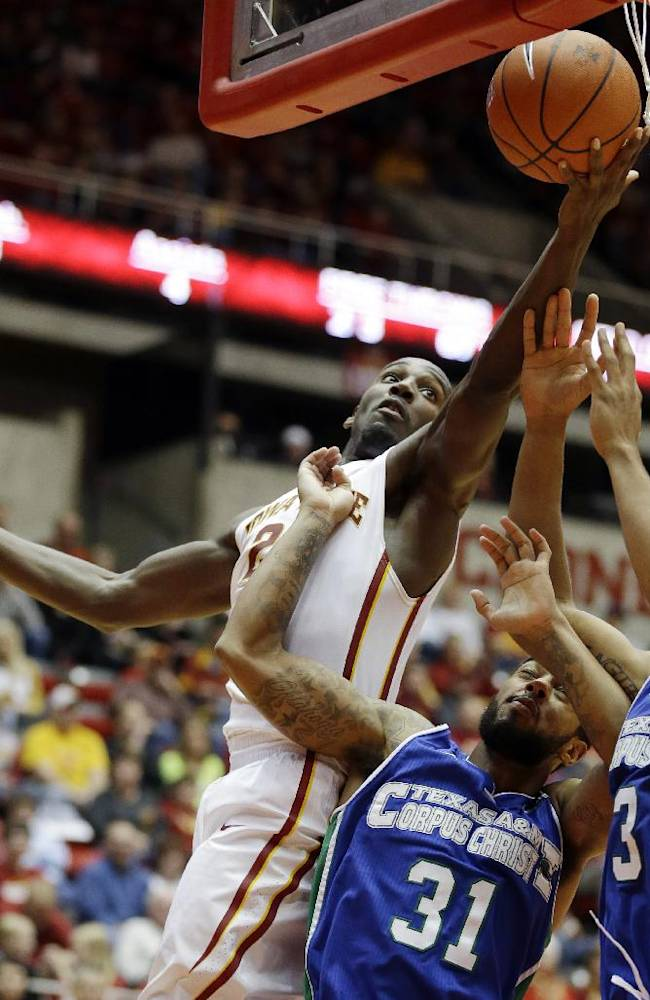 Hogue blossoming into star for No. 17 Iowa State