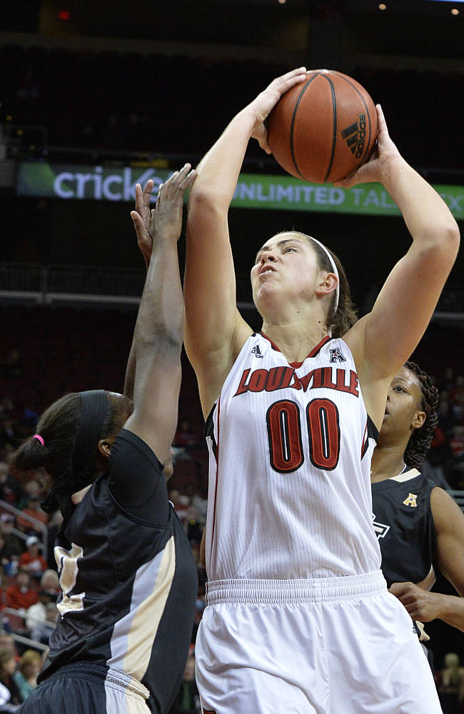 No. 5 Louisville holds off Central Florida, 75-56