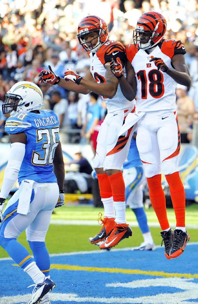 Wide receivers putting up big numbers, too