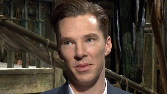 Benedict Cumberbatch Describes Attending 'The Hobbit: The Desolation Of Smaug'...