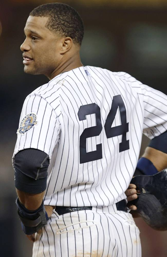 AP source: Cano's agents, Yankees meet