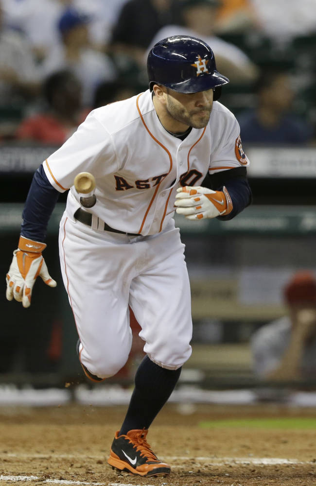 Carter's 2 homers lead Astros over Angels 4-1