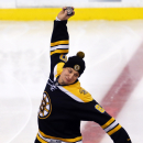 Gronkowski spikes puck as Bruins honor champion Patriots The Associated Press