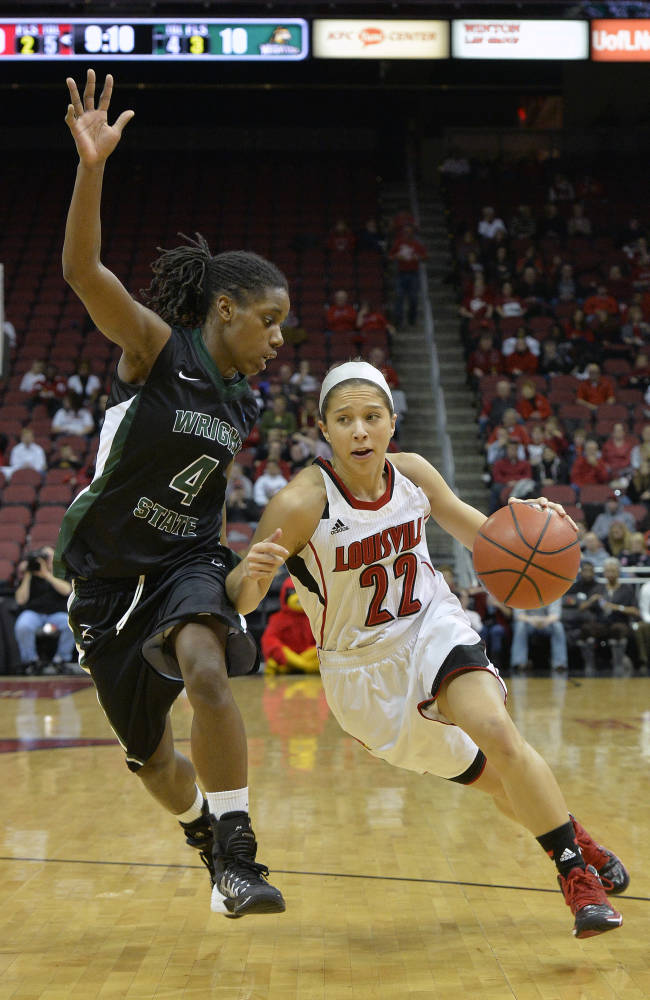 No. 7 Louisville women beat Wright State 99-40