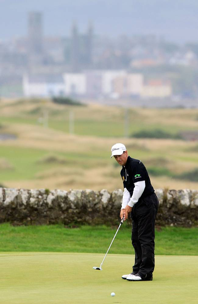SSE Scottish Senior Open - Day One
