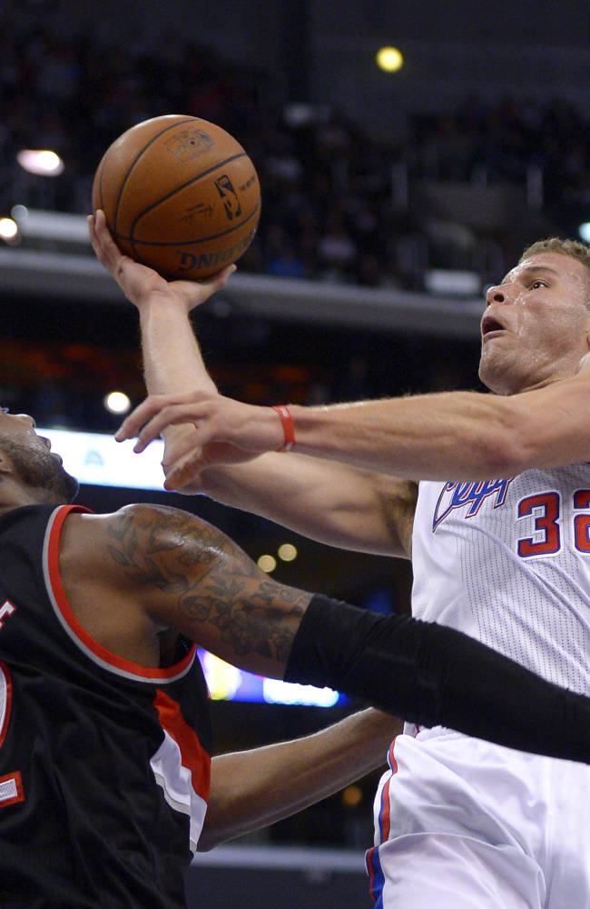 Griffin, Paul lead Clippers past Blazers 122-117