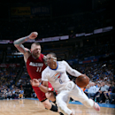 Westbrook gets triple-double as Thunder beat Heat 93-75 The Associated Press