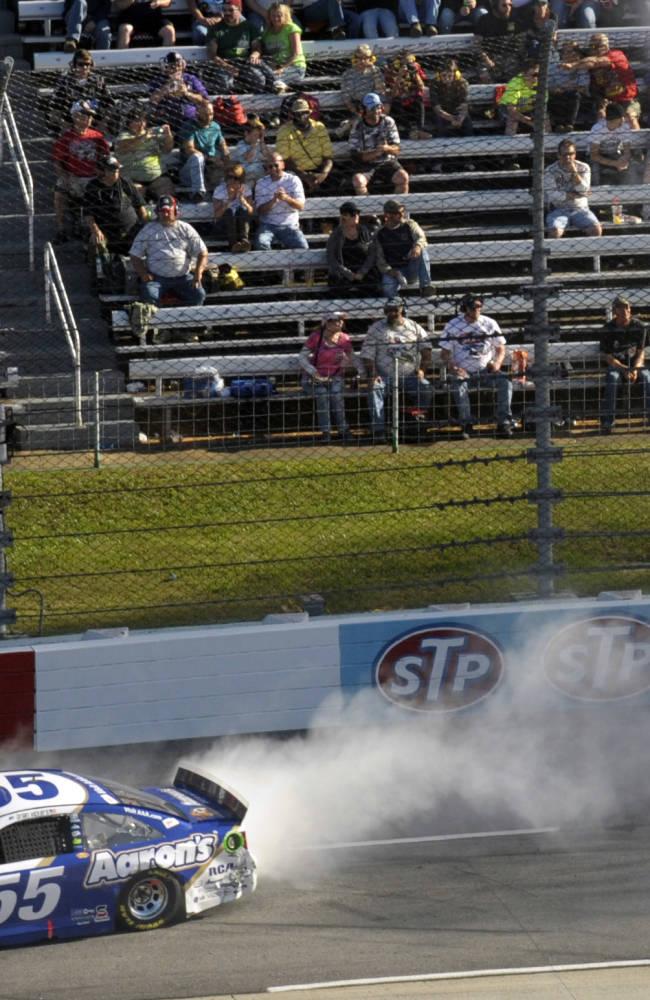 Earnhardt wins at Martinsville Speedway