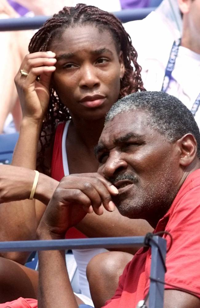 Book by father of Serena, Venus Williams out May 6