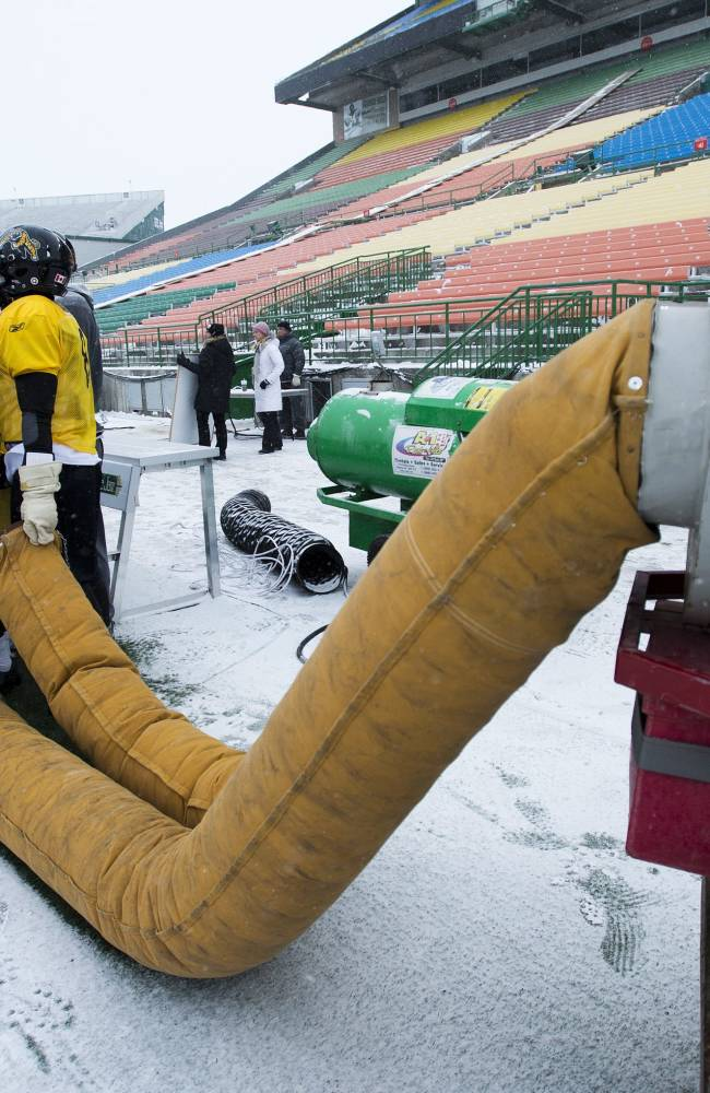 Roughriders comfortable at home for Grey Cup