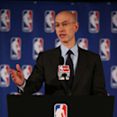 NBA Commissioner Adam Silver speaks to the media regarding the investigation involving Los Angeles Clippers owner Donald Sterling on April 29, 2014 at the New York Hilton Midtown in New York City. (Photo by Nathaniel S. Butler/NBAE via Getty Images)