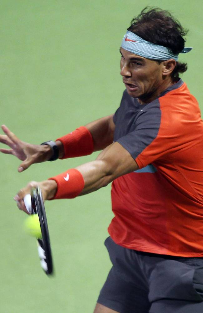 Nadal beats Gojowczyk to reach Qatar Open final